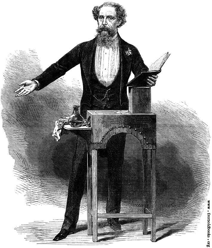 Charles Dickens last reading