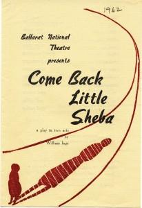 Come Back Little Sheba 2 (program)